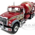 Mack Granite MP With McNeilus Standard Concrete Mixer Rock Valley Concrete 1/34 Diecast Car Model by First Gear