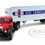Mack L Tractor St. Johnsbury With 30 Single Axle Trailer Diecast Model 1/34 by First Gear