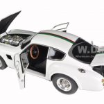 1961 Aston Martin DB4 GT Zagato White #1 1/18 Diecast Model Car Limited to 2500pc by CMC