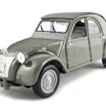 1952 Citroen 2CV Grey 1/18 Diecast  Model Car by Maisto