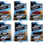 Fast & Furious Build N Collect Wave 1 6pc Diecast Car Set IN BLISTER PACKS 1/55 by Jada