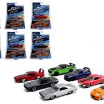 Fast & Furious Build N Collect Wave 2 6pc Diecast Car Set IN BLISTER PACKS 1/55 by Jada