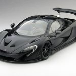 2013 Mclaren P1 Amethyst Black 1/18 Diecast Model Car by True Scale Miniatures
