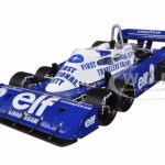1977 Tyrrell P34 #3 Belgian GP 3rd Place Roonie Peterson Limited to 1500pcs 1/18 Diecast Model Car by True Scale Miniatures