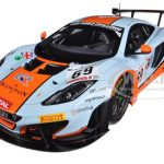 2013 Mclaren 12C GT3 #69 SPA Gulf Racing Bell/Carroll/Verdonck Limited to 500pc 1/18 Model Car by True Scale Miniatures