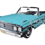 1964 Ford Galaxie 500 Open Convertible Pagoda Green 1/18 Diecast Model Car by Sunstar