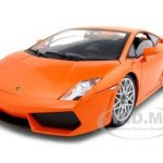 Lamborghini LP 560-4 Orange 1/18 Diecast Car Model by Motormax