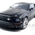 2008 Shelby Mustang GT 500 Super Snake  Black 1/18 Diecast Model Car by Shelby Collectibles