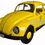 1983 Volkswagen Beetle 1200 Deutsche Bundespost 1/18 Diecast Model Car by Minichamps