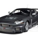 2008 Jaguar XKR GT3 Grey Metallic 1/18 Diecast Car Model by Minichamps