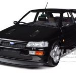 1992 Ford Escort RS Cosworth Black Metallic 1/18 Diecast Car Model by Minichamps