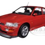 1992 Ford Escort RS Cosworth Red 1/18 Diecast Car Model by Minichamps