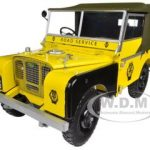 1948 Land Rover Yellow AA Road Service 1/18 Diecast Car Model by Minichamps
