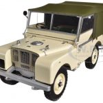 1948 Land Rover Beige Limited to 504pc 1/18 Diecast Car Model by Minichamps