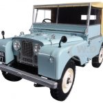 1948 Land Rover Blue Limited Edition to 504pc 1/18 Diecast Model Car by Minichamps