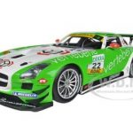 Mercedes SLS AMG GT3 #22 MS Racing Sigacev/Stoll ADAC GT Masters 1/18 Diecast Model Car by Minichamps
