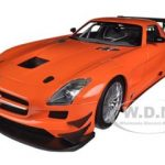 2011 Mercedes SLS AMG GT3 Street Version Orange Limited to 1000pc 1/18 Diecast Model Car by Minichamps