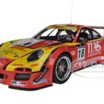Porsche 911 GT3 R #18 De Lorenzi Racing De Lorenzi/Bonetti/Caccia/Bontempelli 24H SPA 2011 Limited to 750pc 1/18 by Minichamps