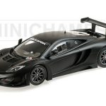 2013 McLaren 12C GT3 Street Matt Black Limited Edition to 1002pcs 1/18 Model Car by Minichamps