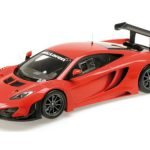 2013 McLaren 12C GT3 Street Red Limited Edition to 1002pcs 1/18 Model Car by Minichamps
