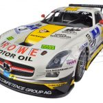 Mercedes SLS AMG GT3 #21 Rowe Racing Nurburgring 2013 Hartung/Heyer/Rehfeld/Hohenadel 1/18 Diecast Model Car by Minichamps