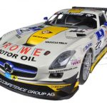 Mercedes SLS AMG GT3 #22 Rowe Racing Nurburgring 2013 Graf/Jager/Seyffarth/Bastian 1/18 Diecast Model Car by Minichamps