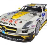Mercedes SLS AMG GT3 #23 Rowe Racing Nurburgring 2013 Arnold/Roloff/Seyffarth/Jager 1/18 Diecast Model Car by Minichamps