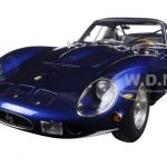 1962 Ferrari 250 GTO Blue 1/18 Diecast Model Car by CMC