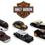 Harley-Davidson Assortment Wave 1 6 Cars Set 1/64 Diecast Model Cars by Maisto