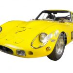1962 Ferrari 250 GTO Yellow 1/18 Diecast Model Car by CMC