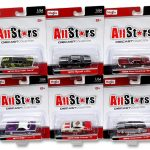All Stars Assortment B 6 Cars Set 1/64 Diecast Model Cars by Maisto