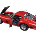 1962 Ferrari 250 GTO Red 1/18 Diecast Model Car by CMC