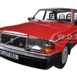 1986 Volvo 240 GL Red Limited Edition to 804pcs 1/18 Diecast Model Car by Minichamps