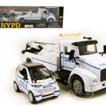 Ford Wrecker Tow Truck NYPD & Smart For Two Set 1/43 by New Ray