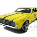 1967 Mercury Cougar XR7 Racing #79 Bob Estes Michael Eisenberg 1/18 Diecast Model Car by Sunstar