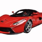 Ferrari LaFerrari F70 Red 1/18 Diecast Model Car by Bburago