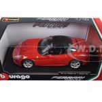 Ferrari California T (closed top) Red 1/18 Diecast Model Car by Bburago