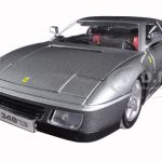 Ferrari 348 TS Grey 1/18 Diecast Model Car by Bburago