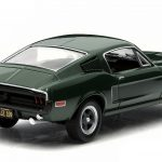 1968 Ford Mustang GT Fastback Green Steve McQueen Bullitt Movie (1968) 1/43 Diecast Model Car by Greenlight
