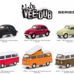 Greenlight Vee Dub Series 1 6pc Diecast Car Set 1/64 Diecast Model Car by Greenlight