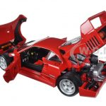 Ferrari F40 Red Signature Series 1/18 Diecast Model Car by Bburago