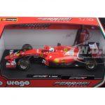 2015 Ferrari Formula 1 F1 SF15-T #5 Sebastian Vettel 1/18 Diecast Model Car by Bburago