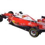2016 Ferrari Formula 1 F1 SF16-H #5 Sebastian Vettel 1/18 Diecast Model Car by Bburago