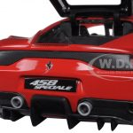 Ferrari 458 Red Speciale Signature Series 1/18 Diecast Model Car by Bburago