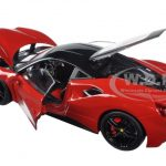 Ferrari 488 GTB Red Signature Series 1/18 Diecast Model Car by Bburago