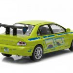 Brians 2002 Mitsubishi Lancer Evolution VII The Fast and The Furious Movie (2003) 1/43 Diecast Model Car by Greenlight