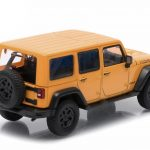 2013 Jeep Wrangler Unlimited Moab Edition With Display Showcase 1/43 Diecast Model Car by Greenlight