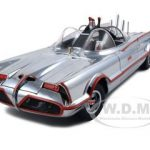 1966 TV Series Batmobile Elite Edition Chrome 1 of 3000 Made 1/18 Diecast Model Car by Hotwheels