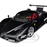 2003 Ferrari Enzo Monza Test Car Matt Black Pirelli 1/18 Diecast Car Model by BBR