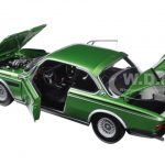 1975 BMW 3.0 CSL (E9) Coupe Green Limited Edition to 504pcs 1/18 Diecast Model Car by Minichamps